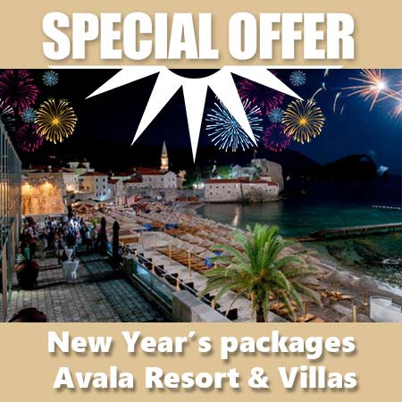 New Year's packages Avala Resort & Villas 2019-2020